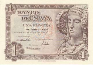 billete peseta